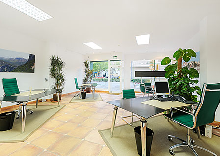 Büro in LLcumajor