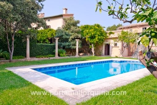 Stately villa in the centre of Soller