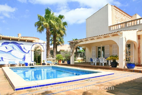 Villa à Cala Mandia