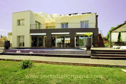 Ultramodern new built villa with lift