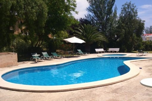 Furnished apartment in calm location with community pool and nearby the beach in Cas Catalá