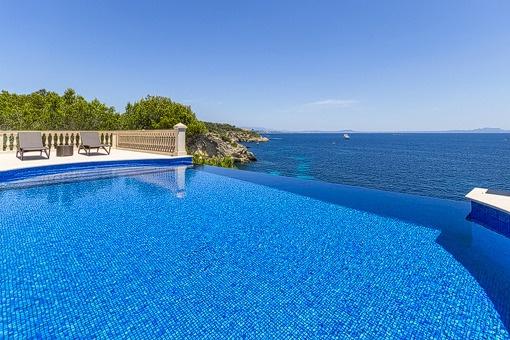 Luxury villa with direct sea access and incredible views in Sol de Mallorca