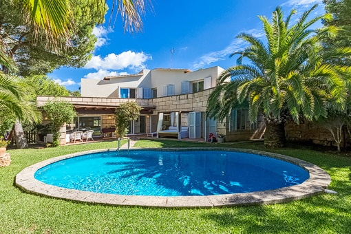 Very nice tranquil family house with separate guest apartment in Costa d'en Blanes