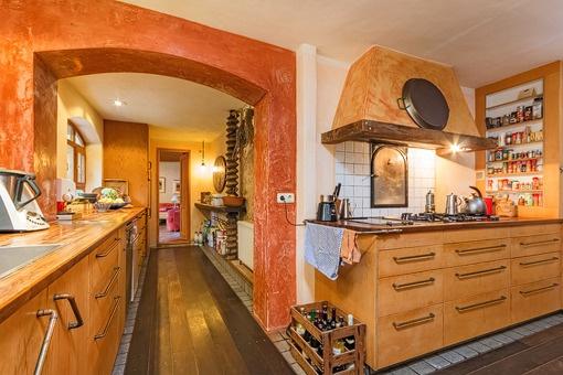 Beautiful rustic kitchen
