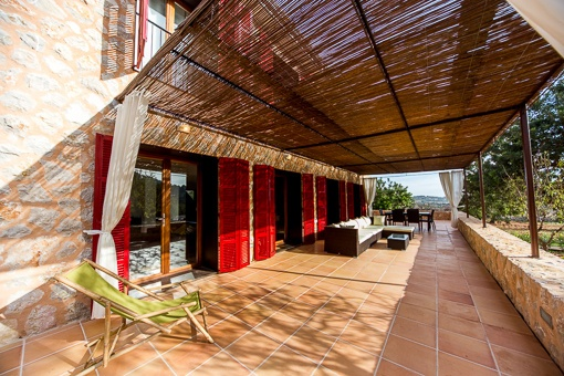 Mallorquin covered terrace