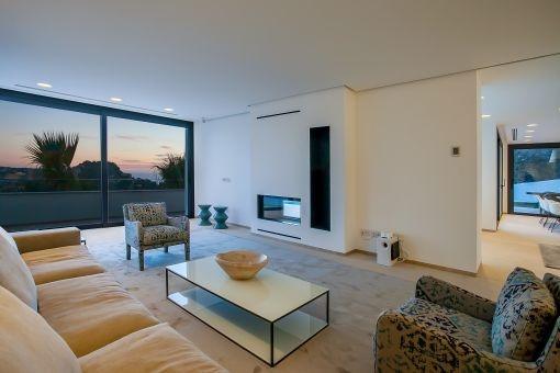 Impressive living area