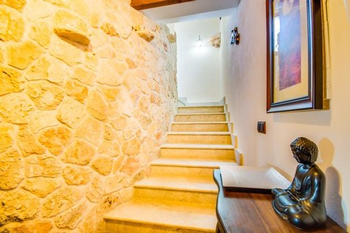 Staircase from the finca