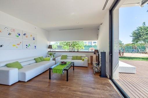 À vendre Villa de luxe minimaliste avec pool et jardin à Sa Planera