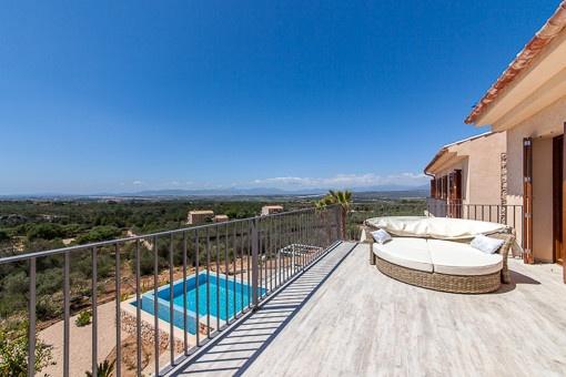 Fantastic panoramic views of the bay of Palma