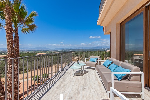 Sunny terraces
