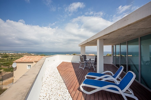 Idyllic terrace