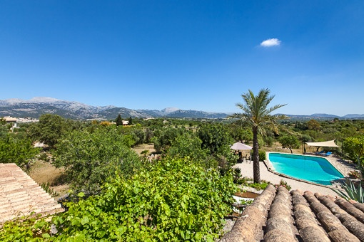 Charming finca in Selva with outstanding landscape views