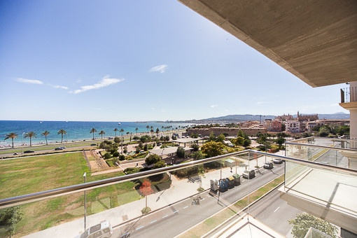 Nice bright apartment with sea views near Portitxol