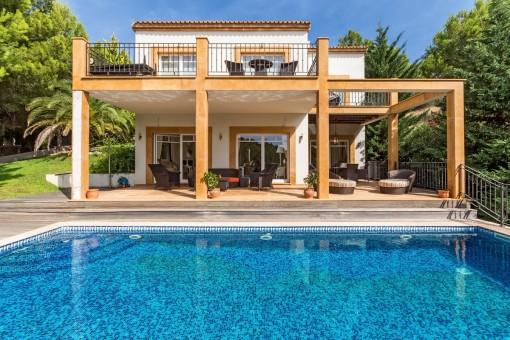 Villa with privacy and character in Costa de la Calma