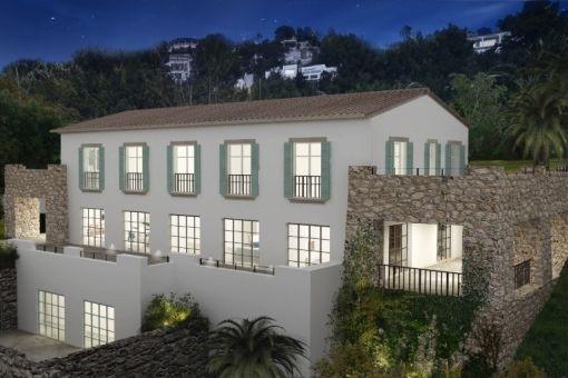 Newly built modern Finca with views in Son Vida