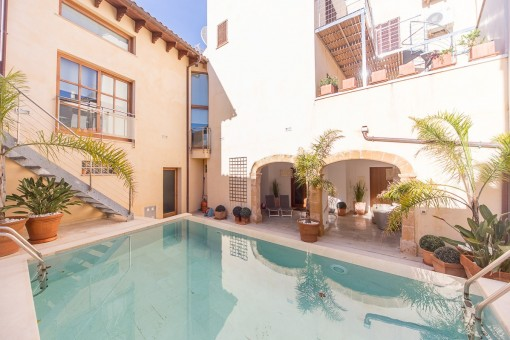Stunning luxury home right in the heart of the Old Town of Pollença