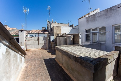 Spacious 4-bedroom townhouse next to the Plaza Major in Pollensa