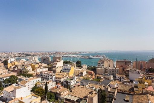 Bright apartment with spectacular sea views in El Terreno