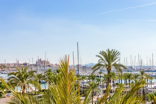 Spacious apartment with beautiful views and much potential on the Paseo Marítimo