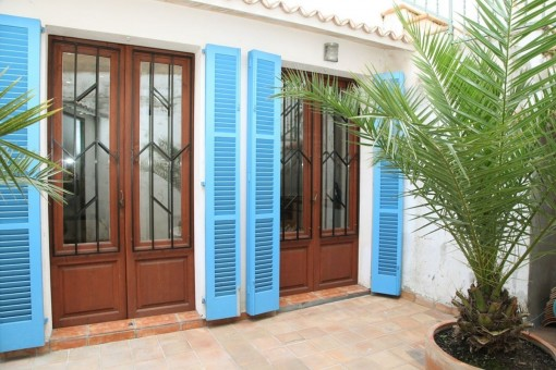 Unfurnished, well-kept terraced house in Es Jonquet