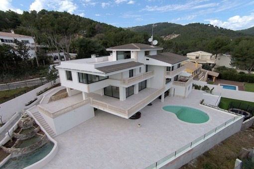 Villa à Son Vida louer