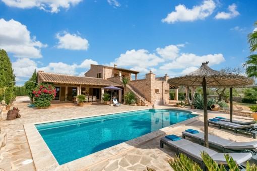 Wonderful finca property near Santanyi