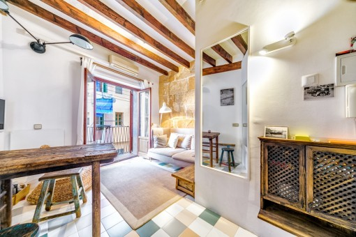 Comfortable and light-flooded studio in the heart of Palma
