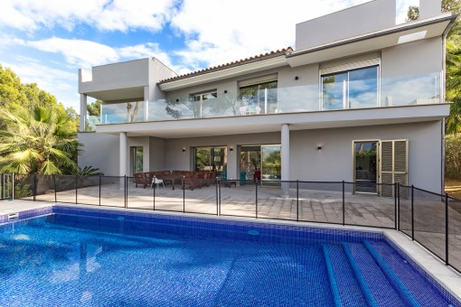 Spectacular and modern renovated house with exceptional comfort in Nova Santa Ponsa