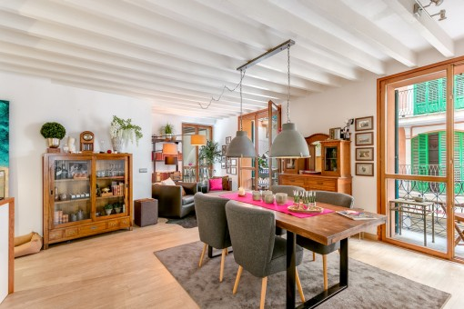 Wonderful, completely renovated apartment in the centre of the old town in Palma