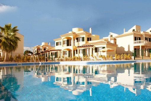 Beautiful, furnished ground floor apartments near the beach of Es Trenc