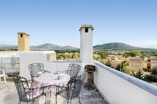 Well maintained penthouse in beautiful complex with communal pool in Santa Ponsa