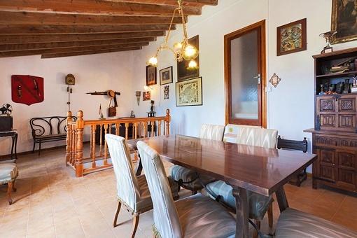Mallorquin dining area