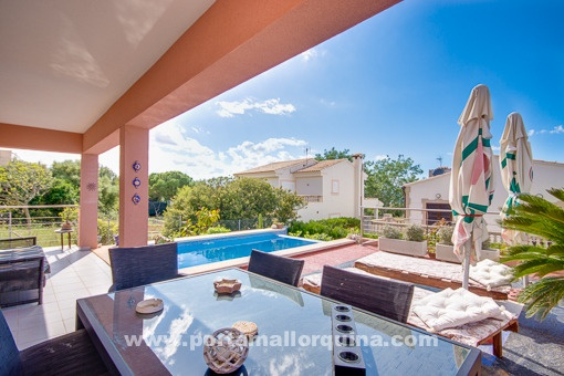 House with stunning views of sea and mountains in Colonia San Pere