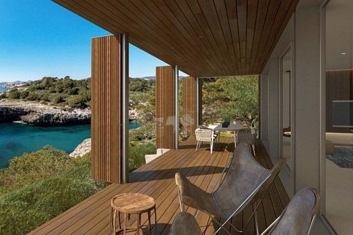 Exclusive balcony