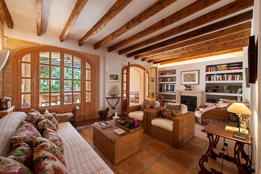 Countrystyle living area