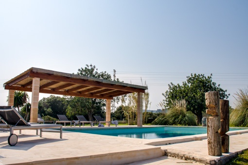 An other view to the pool area