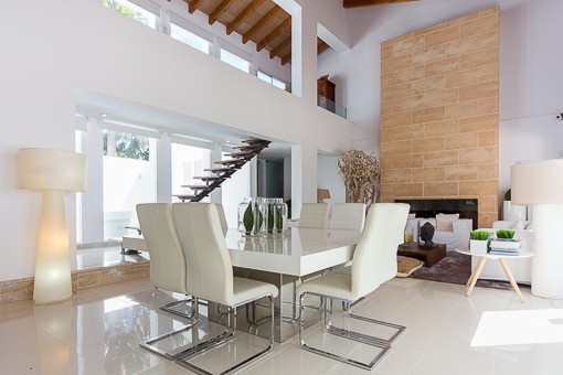Exclusive dining area