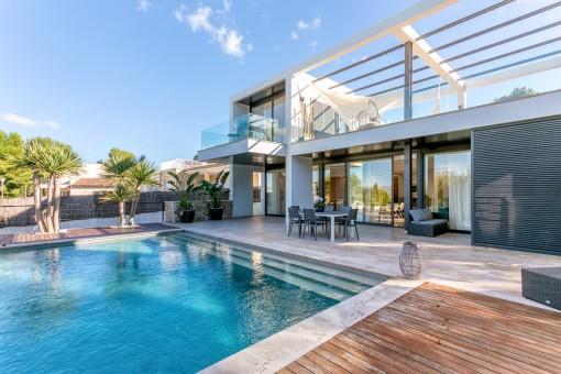 Luxurious villa with sea views in Bonaire