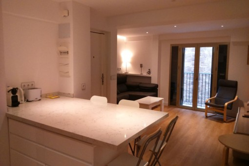 Renovated and modernly furnished apartment in the centre of Palma