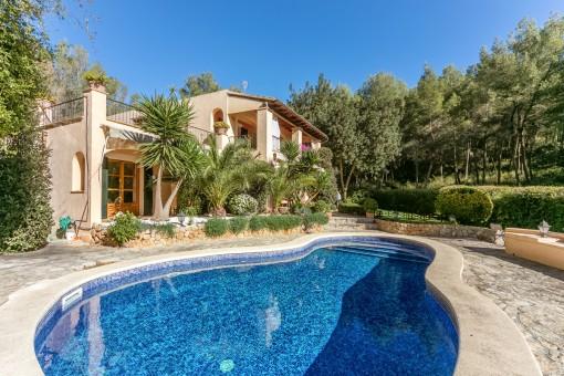 Comfortable and tasteful villa in Son Vida