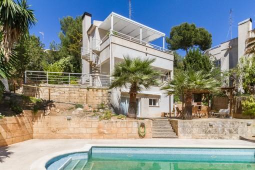 Charming villa with sea views in Costa d'en Blanes