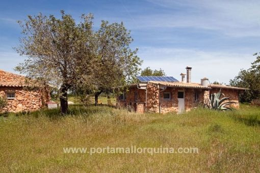 Country house on a large plot in the idyllic surroundings of Llucmajor