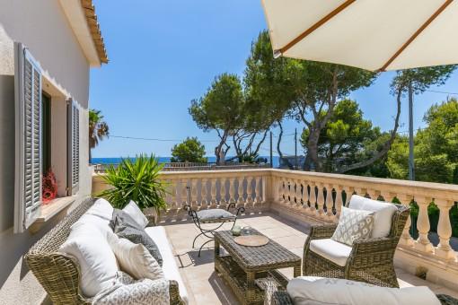 Villa à Cala Mondrago