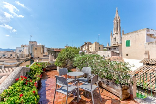 Spectacular penthouse apartment in Palma with...