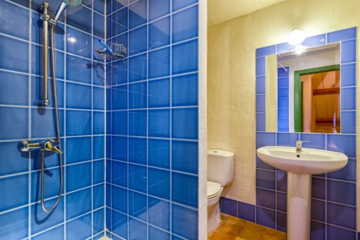 Lovely bathroom with shower