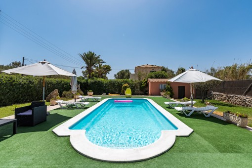 Villa with pool and holiday rental licence in Cap des Moro