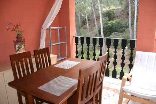 Exclusive penthouse in a quiet community in Santa Ponsa