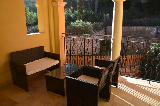 Beautiful apartment in prime location in an exclusive residential community in Santa Ponsa