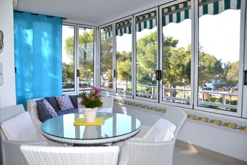Outstanding apartment with sea views in a prime location in Santa Ponsa