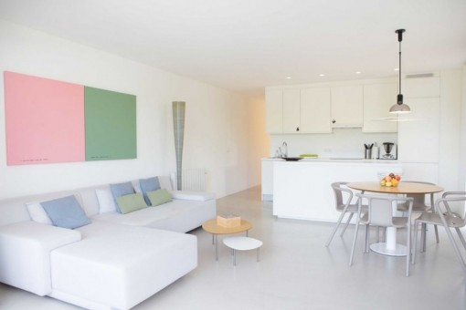 Seaview-apartment in Santa Ponsa only a few steps from the sea